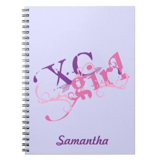 Cross Country Girl - XC with Arrow Notebook