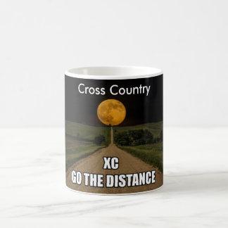 Cross Country . Go The Distance Coffee Mug