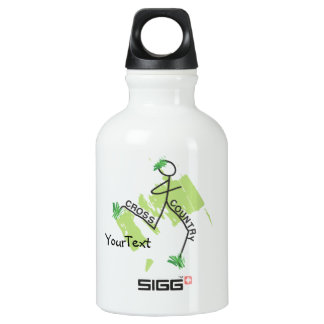 Cross Country Grass Runner Water Bottle