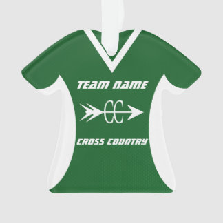 Cross Country Green Sports Jersey Photo