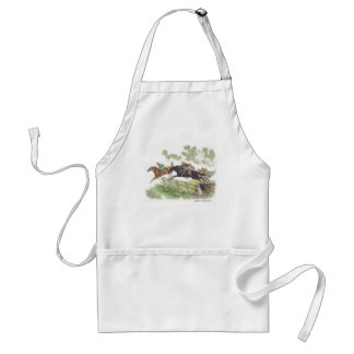 Cross-Country Horses Adult Apron