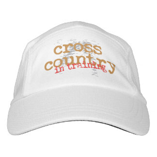 Cross Country In Training - Running Sports Hat