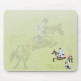Cross-country jumper mousepad