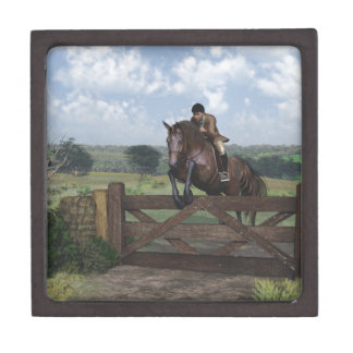 Cross Country - Jumping Horse Gift Box