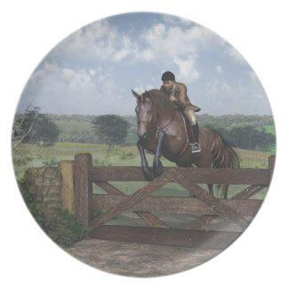 Cross Country - Jumping Horse Plate