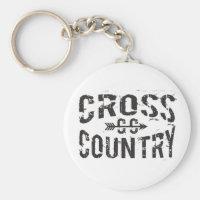 Cross Country Keychain