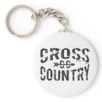 Cross Country Keychain
