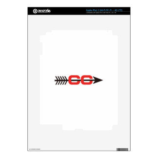 Cross Country Logo Decal For iPad 3