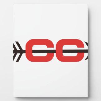 Cross Country Logo Plaque