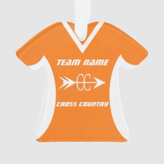 Cross Country Orange Sports Jersey Photo