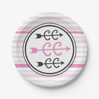 Cross Country PINK Paper Plate