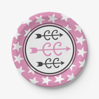 Cross Country PINK Party Supplies Paper Plate