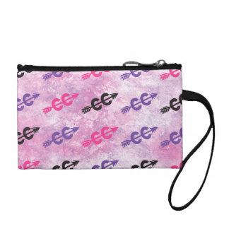 Cross Country PINK PURPLE Coin Wallet