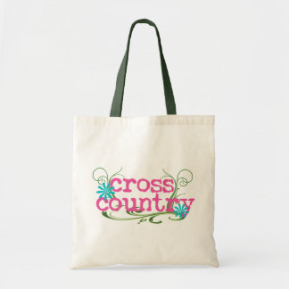 Cross Country PINK Tote Bags