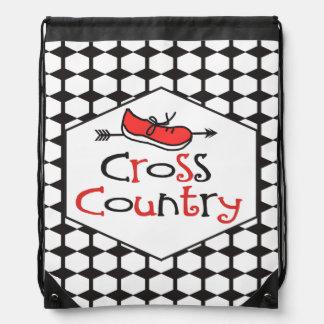 Cross Country Runner - Cute Shoe Symbol Backpacks