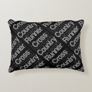 Cross Country Runner Extraordinaire Accent Pillow