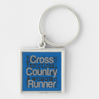 Cross Country Runner Extraordinaire Keychain