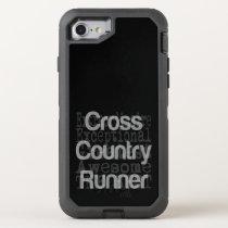 Cross Country Runner Extraordinaire OtterBox Defender iPhone 8/7 Case