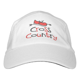 Cross Country Runner Hat - Cute Shoe Symbol Headsweats Hat