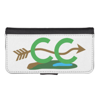 Cross Country Runner - Hilly Arrow iPhone SE/5/5s Wallet