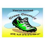 Cross-Country Runner Invitation