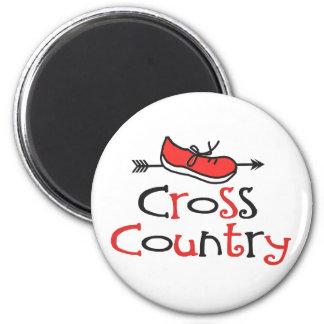 Cross Country Runner Magnet