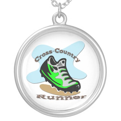 Cross-Country Runner Necklace