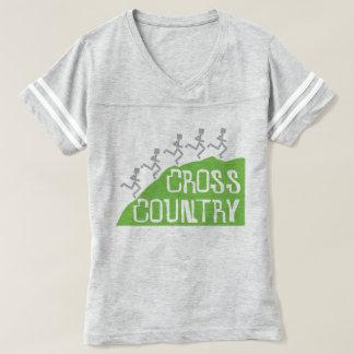 Cross Country Runner on Hill © T-shirt