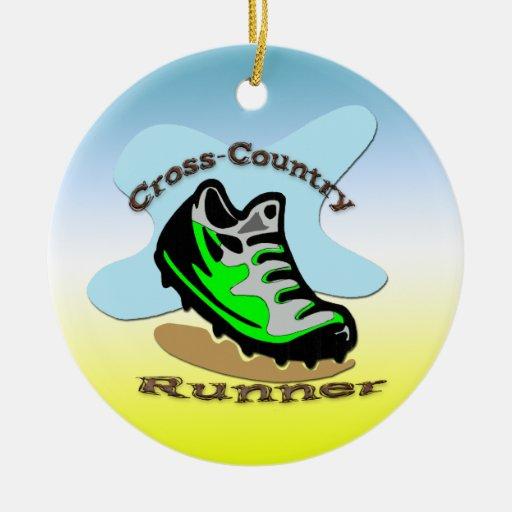 Cross-Country Runner Ornament