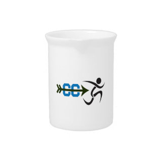 CROSS COUNTRY RUNNER BEVERAGE PITCHER