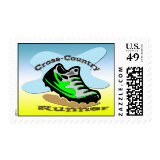 Cross-Country Runner Postage