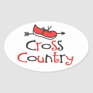 Cross Country Runner Stickers