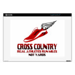 """Cross Country Running 15"""" Laptop Decals"""