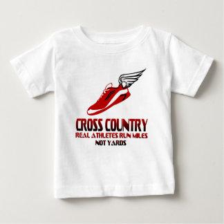 Cross Country Running Baby T-Shirt