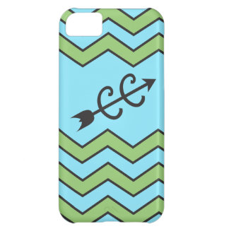 Cross Country Running Chevron Pattern Case For iPhone 5C