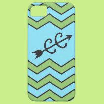 Cross Country Running Chevron Pattern iPhone SE/5/5s Case