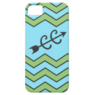Cross Country Running Chevron Pattern iPhone SE/5/5s Case