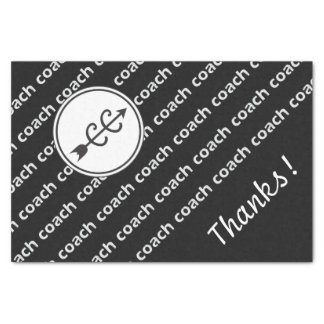 "Cross Country Running Coach 10"" X 15"" Tissue Paper"