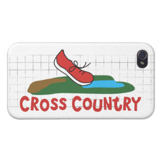 Cross Country Running Cover For iPhone 4