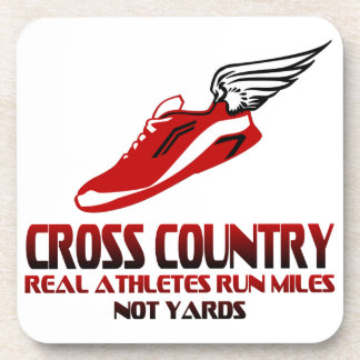 Cross Country Running Drink Coaster