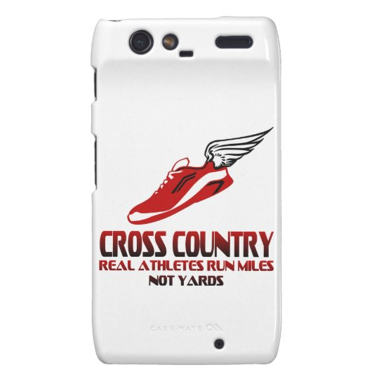Cross Country Running Droid RAZR Cover