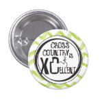 Cross Country Running is XCellent Button