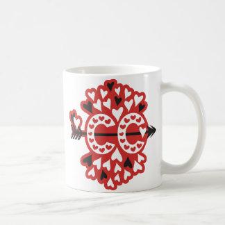 Cross Country Running Love Classic White Coffee Mug