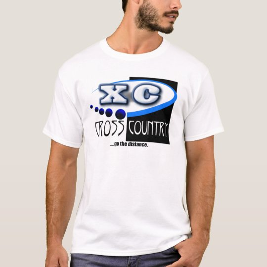 CROSS COUNTRY RUNNING MOTTO - GO THE DISTANCE XC T-Shirt