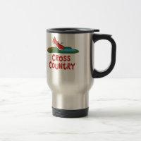 Cross Country Running Mug Runner Themed