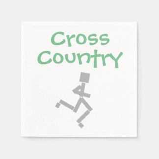 Cross Country Running Napkin