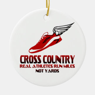 Cross Country Running Ornaments