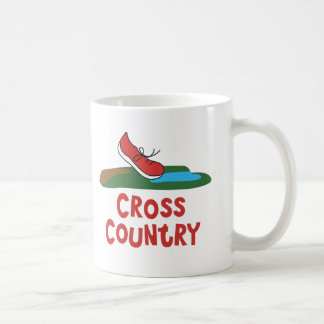 Cross Country Running Shoe © Coffee Mug
