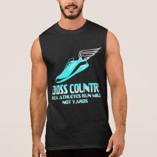 Cross Country Running Sleeveless Shirt