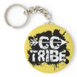 Cross Country Running Tribe Keychain